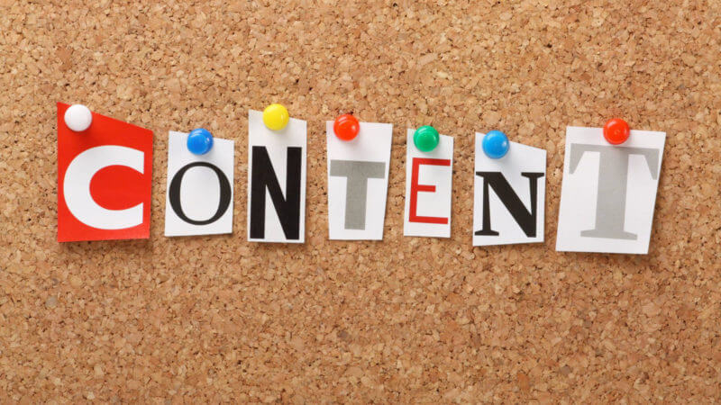 Focus on your Content