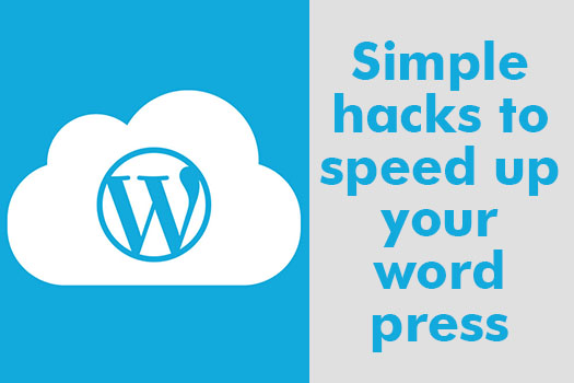 Simple hacks to speed up your word press
