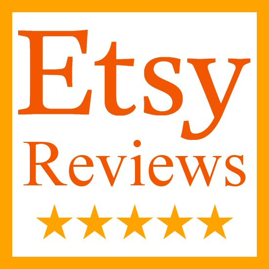 reviews from Etsy