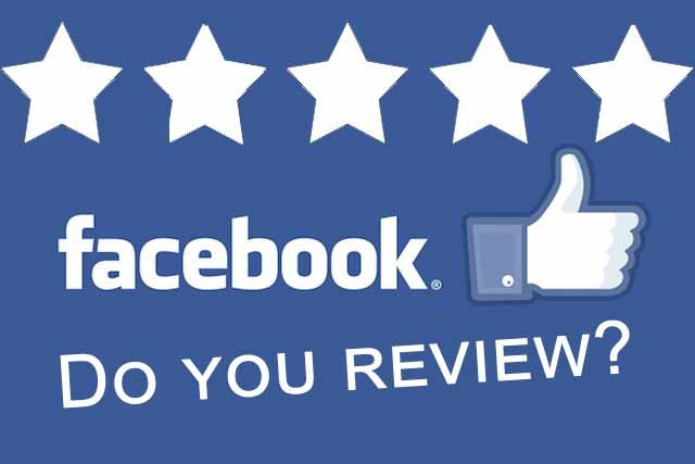 reviews from Facebook page
