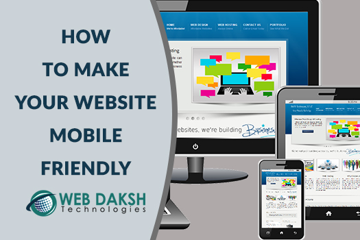 mobile friendly website designe